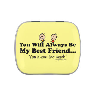 My Best Friend Jelly Belly Candy Tin
