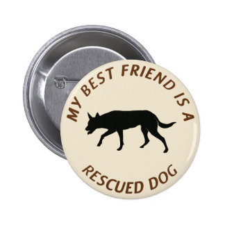 My Best Friend (Kelpie) Button