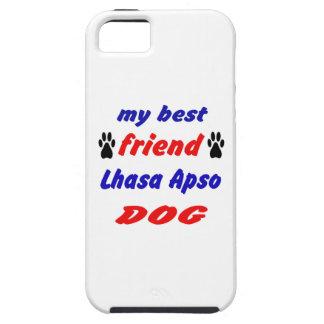 My best friend Lhasa Apso Dog iPhone 5 Case