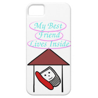 My Best Friend Lives Inside iPhone SE/5/5s Case
