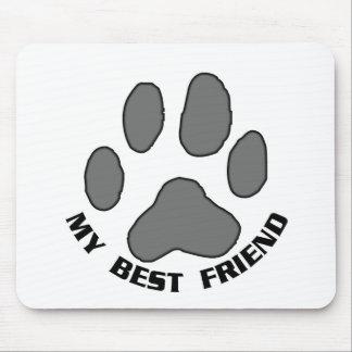 My Best Friend Mouse Mat