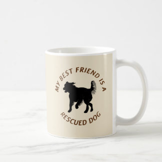 My Best Friend (Mutt) Coffee Mug