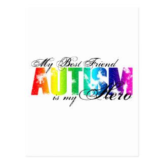 My Best Friend My Hero - Autism Postcard