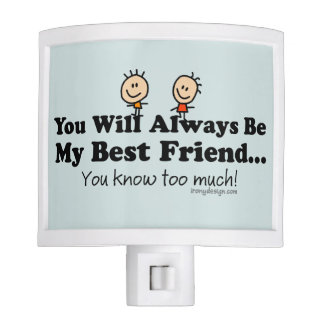 My Best Friend Night Light