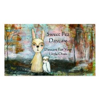 My Best Friend Original Art Painting Business Card