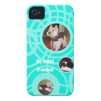 My Best Friend Pets Blackberry Bold Case Teal