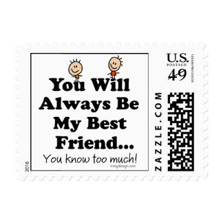 My Best Friend Postage