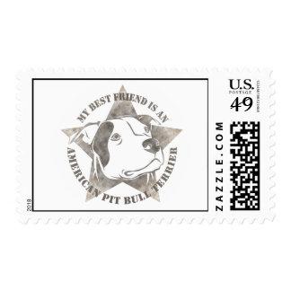 My Best Friend Postage Stamps