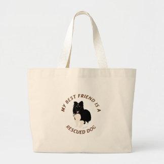 My Best Friend (Shetland Sheepdog) Tote Bag