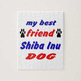 My best friend Shiba Inu Dog Puzzle