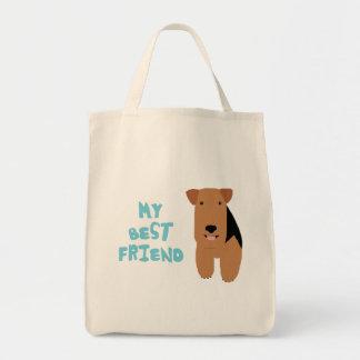 My Best Friend Welsh Terrier Tote Bag
