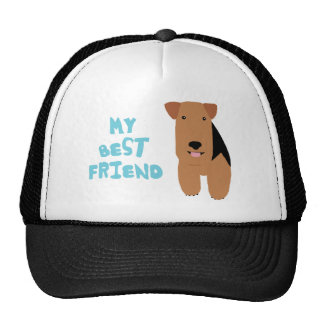 My Best Friend Welsh Terrier Trucker Hat