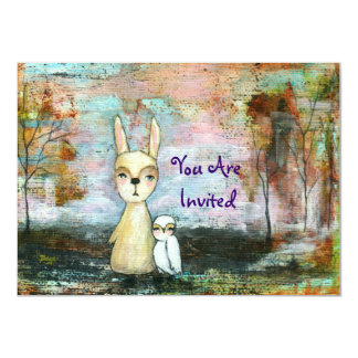My Best Friend You Are Invited Original Painting Invitations