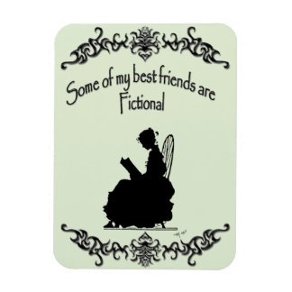 My Best Friends Are Fictional Magnet