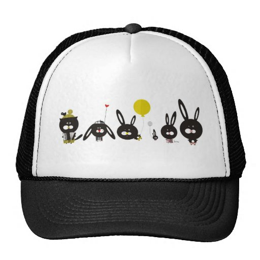 My best friends make me smile Hat by Krize Gorro