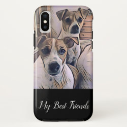 Case-Mate Barely There iPhone X Case with Portuguese Water Dog Phone Cases design