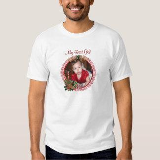 """""""My Best Gift"""" Christmas photo Shirt"""