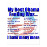 My Best Obama Feeling Was... Post Cards