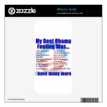 My Best Obama Feeling Was... Skins For The iPhone 4