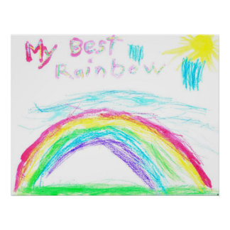 My Best Rainbow by Steven Loy Poster