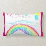 My Best Rainbow Pillow