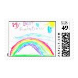 My Best Rainbow stamps