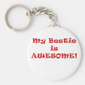 My Bestie is Awesome Key Chain