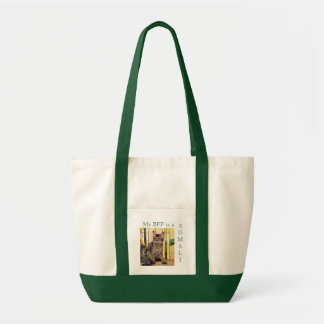 My BFF is a SOMALI CAT Tote Bag