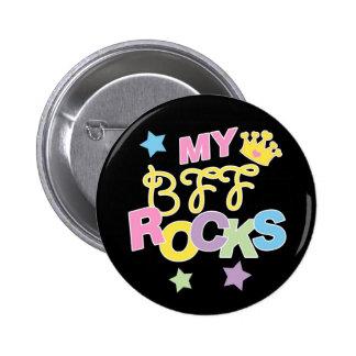 My BFF Rocks Button