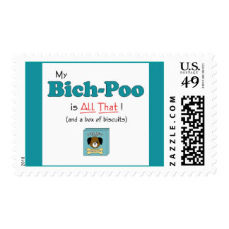 My Bich-Poo is All That! Postage Stamps