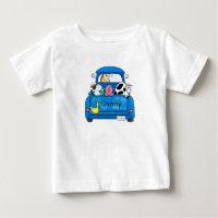 My Big Blue Truck Baby T-Shirt