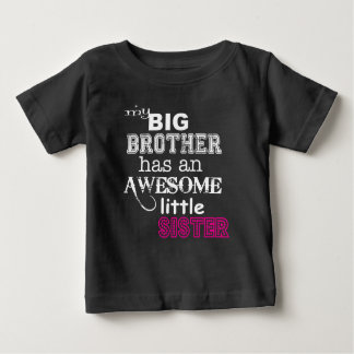 My big brother has an awesome little sister ~ Tee