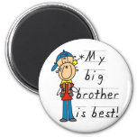 My Big Brother is Best Tshirts and Gifts Magnet