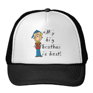 My Big Brother is Best Tshirts and Gifts Trucker Hat