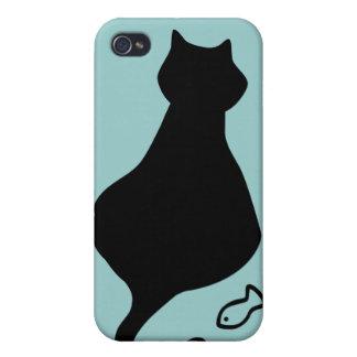 My Big Fat Cat  iPhone 4 Cover