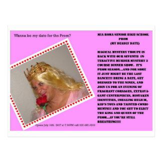 My Big Fat Prom Postcard