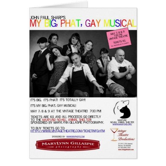 My Big Phat Gay Musical Card