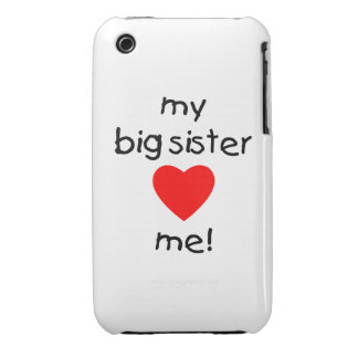 My Big Sister Loves Me iPhone 3 Cover