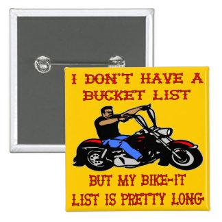 My Bike-It List Is Pretty Long Button