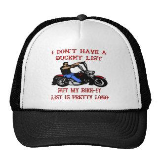 My Bike-It List Is Pretty Long Trucker Hat