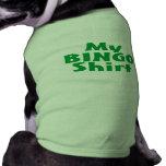 My Bingo Shirt (Green) Dog Clothes
