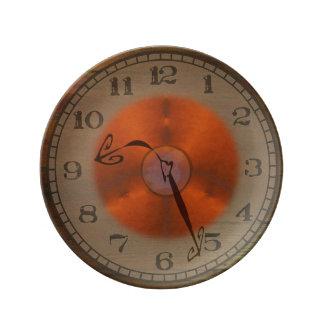 My Biological Clock Porcelain Plate