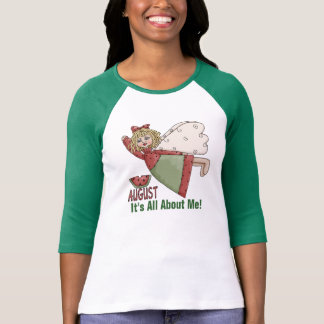 My Birthday MonthLadies 3/4 Sleeve Raglan (Fitted) T-Shirt