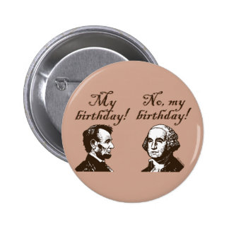 My Birthday Pinback Button