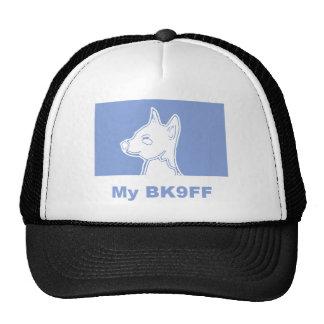 My BK9FF Dog Silhouette Trucker Hats
