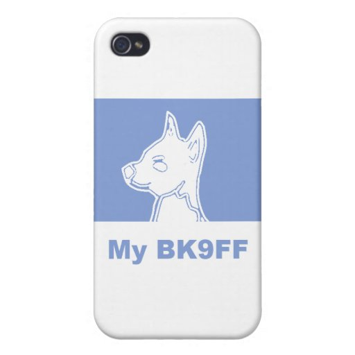 My BK9FF Dog Silhouette iPhone 4/4S Case