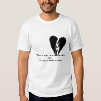 MY Black broken heart T Shirt
