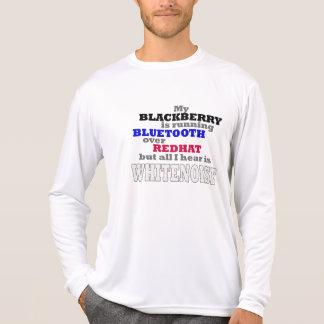 My Blackberry Runs Bluetooth T-Shirt