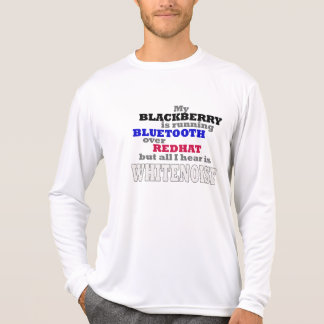 My Blackberry Runs Bluetooth Tee Shirts