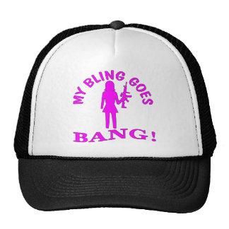My Bling Goes BANG Trucker Hat